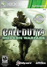 Call of Duty 4: Modern Warfare -- Platinum Hits (Microsoft Xbox 360, 2010)