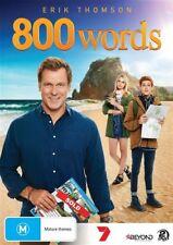 800 Words season 1 (DVD, 2015, 2-Disc Set). New