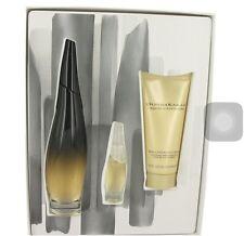 Liquid Cashmere Black Gift Set Eau de Parfum 3.4oz  DONNA KARAN FOR WOMEN 3pcs /