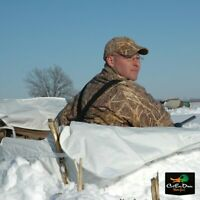 NEW AVERY GREENHEAD GEAR SNOW COVER GROUND FORCE LAYOUT BLIND
