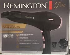 Remington Pro 1875W Pearl Ceramic Hair Dryer AC2015 Deep Purple Damaged Box
