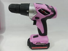 Pink Power PP182 18V Cordless Drill Driver Set for Women