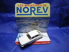 DV6262 NOREV RENAULT 16 R16  BERLINE PLASTIQUE BLANC Ref 3 1/43 TBE