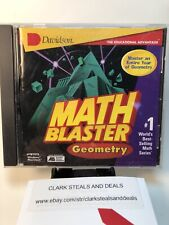 Educational Software Math Blaster Geometry Master An Entire Year Of Geometry Cd-