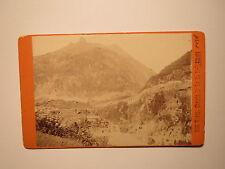 Wasen / Wassen ? - Chemin de fer du St.-Gotthard - 1886 / CDV