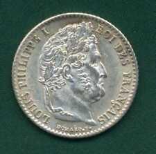 1838B FRANCIA trimestre Franco UNC.