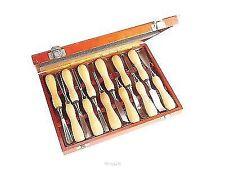 Faithfull FAIWCSET12 Woodcarving Set in Case Set of 12