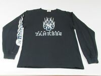 VINTAGE NEW YORK YANKEES - LONG SLEEVE - MEDIUM BLACK T-SHIRT - V1481