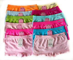 6 Mädchen Pantys Unterhose Unterwäsche Slips Kinder Schlüpfer Panties Gr. 2 -16
