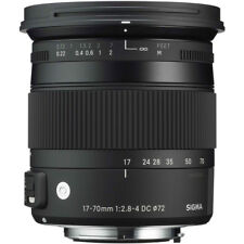 Sigma 17-70mm F2.8-4 DC Macro OS HSM 'C' Lens - Canon Fit