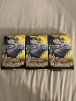 3x Yugioh cards REALM OF LIGHT 1ST EDITION Structure Deck SEALED!!