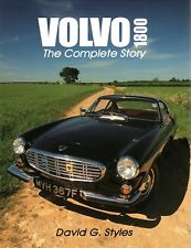 Volvo P1800 Complete Story - Buch book (P 1800 E ES S Coupe Schneewittchensarg)