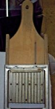 Vintage Wood And Metal Potato Vegetable Curly Slicer No. 6 Early Madoline
