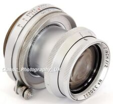 Taylor-Hobson ANASTIGMAT 2 Inch f/2 LEICA LTM Lens by REID & Sigrist Leicester