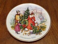 "1990 ""Bringing Christmas Home"" Avon Plate Victorian Christmas"