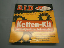 Kettensatz / Ketten-Kit DID m. Alu Kettenrad für Suzuki GSX-R 750 W T