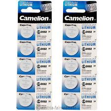 """""""10x Camelion CR2032 PREMIUM Lithium Batterie CR 2032"""