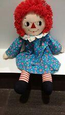 Raggedy Ann doll applause Knickerbocker 8458
