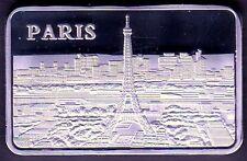 ★★★★ JOLI LINGOT PLAQUE ARGENT ● PARIS ★★★★★