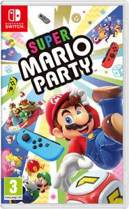 SUPER MARIO PARTY (Nintendo Switch, 2021)