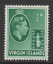 Br.virgin es.1938 ½ D Verde Sg 110a Mnh.