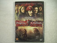 The Pirates of the Caribbean At World's End DVD GC 91U