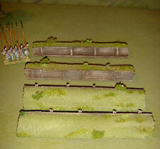WARGAMES 15 mm Entrenchments TRENCH Flames of War WW2 handmade by FAT FRANK