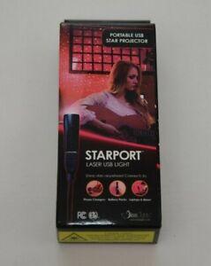 Blisslights Starport Laser USB Light Multiple Colors New in Box