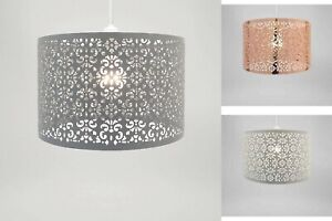 CHANDELIER STYLE CEILING METAL LIGHT PENDANT SHADE DROPLET EASY FIT MULTICOLORED