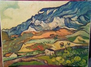 Van Gogh Painting At St. Remy Print