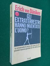 Erich Von DANIKEN - GLI EXTRATERRESTRI HANNO INVENTATO L'UOMO 1a Rizzoli (1978)