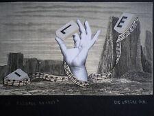 Delmeire François-xavier - pièce unique, collage papier - le passage secret  -
