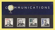 ROYAL  MAIL  -  PRESENTATION  PACK  NO. 260   -  COMMUNICATIONS   -  1995