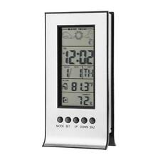 Indoor Outdoor Wireless Weather Station Alarm Clock Snooze Forecast Calendar
