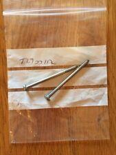 Triumph, T270012, Rear lens screw x 2, OL = 52mm, Legend TT T Bird  T Bird sport