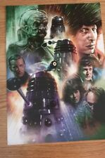 Doctor who A3 poster genesis of the daleks