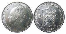 NIEDERLANDE KM 165;  2 1/2 Gulden Wilhelmina 1938 in VZ+  447035