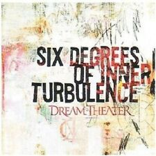 DREAM THEATER -SIX DEGREES OF INNER TURBULENCE 2 CD NEU