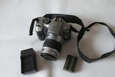 Cámara SLR Canon Eos 300D Digital SLR D con EF 28-90 mm lente de Canon-Plata