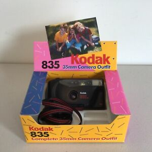 Kodak Star 835 35mm Black Film Camera with Instructions and Original Box #309