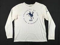 Nike Indianapolis Colts - Men's Long Sleeve Shirt (Multiple Sizes) Used
