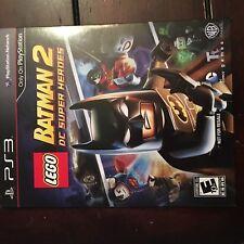 LEGO Batman 2: DC Super Heroes (PlayStation 3, 2012)