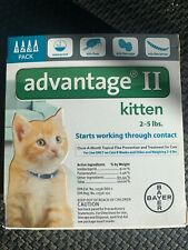 New listing Advantage Ii for kittens and cats 2-5 lbs - 4 Dose Pack - Epa Approved!