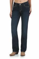 Wrangler Cash Ladies Mid Rise Boot Cut Denim Jeans - Size 3/4 =Aus 8
