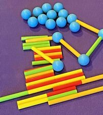 One Step Ahead Jumbo-Netics Magnetic Balls Rods Building Set Toddler 48 pieces