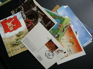 Postcards Special Postmarks Commemorative (large Choice) (F3)