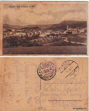# FONDO: CART. PER PESARO CON ANNULLO TIPO AUSTRIACO 1921 TASSATA CON C.30