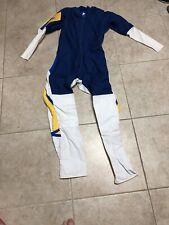 Tony Suit Original SkydivingJumpsuit Royal Blue White Yellow