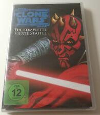 DVD Star Wars The Clone (Serie) Quarta Stagione (4) Nuovo (22 Episodi) FSK 12