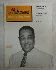 Vintage Metronome Music Magazine June 1949 Duke Ellington Half-Century Man